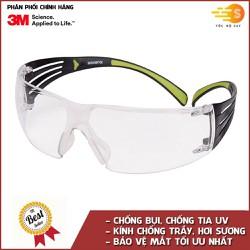 Kính bảo hộ mắt chống bụi và chống tia UV 3M SF401AF