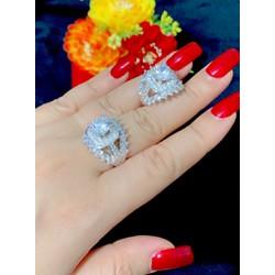 Nhẫn nữ cao cấp bền màu E415