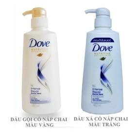 Combo Dầu Gội Dove Phục Hồi Hư Tổn 650 g+ Kem Xả Dove Phục Hồi Hư Tổn 620g - CBDH8415