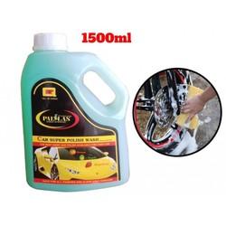 Nước rửa xe bọt tuyết siêu bóng Pallas 1.5L – Pha nước tỷ lệ 1-50 với 3 mùi hương siêu thơm mát Cam Dâu Táo