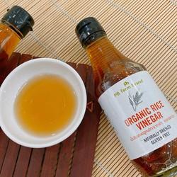Giấm gạo hữu cơ FB Farm Organic Rice Vinegar chai 200ml