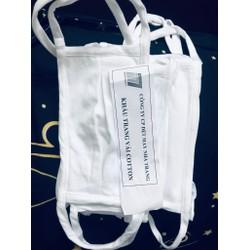 Set 10 khẩu trang y tế kháng khuẩn bằng vải giặt được sẵn hàng