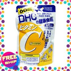 Viên uống DHC bổ sung vitamin C 60 ngày Nhật Bản tăng đề kháng cho cơ thể, giúp đẹp da mờ sẹo