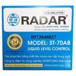 Phao điện tự động RADAR chính hãng