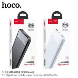 PIN SẠC DỰ PHÒNG 2 Cổng HOCO CJ1 Pin 10.000mAh Dung Lượng - Hàng chính hãng - HOCO CJ1