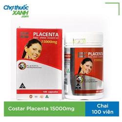 Nhau thai cừu Placenta Costar 15000mg giúp làm đẹp, giảm nám của úc