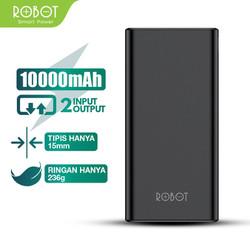 Pin Sạc Dự Phòng ROBOT RT170 10.000Mah - 2 Output & 2 Input - Chính hãng ROBOT - BẢO HÀNH 1 ĐỔI 1