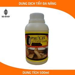 Dung dịch tẩy rửa đa năng Pallas 500ml, nước tẩy làm sạch nhanh ghế da, simili, nội thất xe, lốp xe hơi, ô tô, xe khách_P-0503