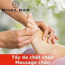 [Evoucher_Quận 1_HCM] Tẩy da chết chân + Massage chân Tại BNail Bar