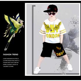COMBO 2 bộ quần áo trẻ em mẫu LONDON dành cho bé trai 18-28kg. Thiết kế phong cách, năng động - COMBO 2b LONDON
