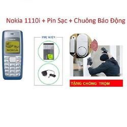 Điện Thoại 1110i mới có Pin Sạc + Tặng Chuông Báo Động