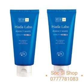 Combo 2 sữa rửa mặt dưỡng trắng dịu nhẹ Ha-da La-bo Perfect White - Tuýp nhỏ 25g - Combo 2 Ha-da La-bo SRM 25g