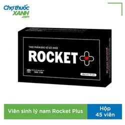 Rocket Plus cải thiện sức khỏe nam giới của thái dương