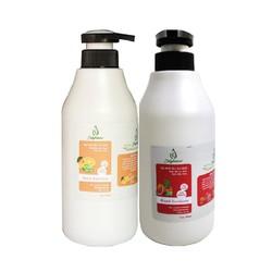 Gel rửa tay khô Nha Đam và tinh dầu cam hoặc bưởi 500ml JULYHOUSE