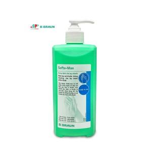 Dung dịch rửa tay sát khuẩn nhanh Softa-Man 500ml phòng ngừa Virus Corona, chân tay miệng... - satkhuannhanh thumbnail