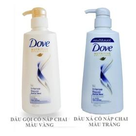 Combo Dầu Gội Dove Phục Hồi Hư Tổn 650 g+ Kem Xả Dove Phục Hồi Hư Tổn 620g - CBDG833 - DGD
