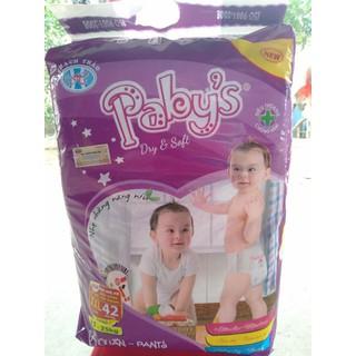 Bỉm quần Pabys XXL42 cho bé từ 17_25kg - BQPBxxl thumbnail