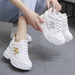 [VD3388]  Giày thể thao nữ độn đế cao 5 phân cực êm chân [Được kiểm hàng trước khi thanh toán]