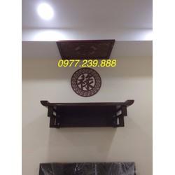 bàn thờ gỗ sồi 89cm