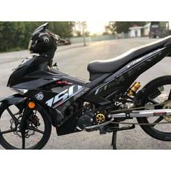 Tem rời EX 150 Y15 ZR đen mẫu mới