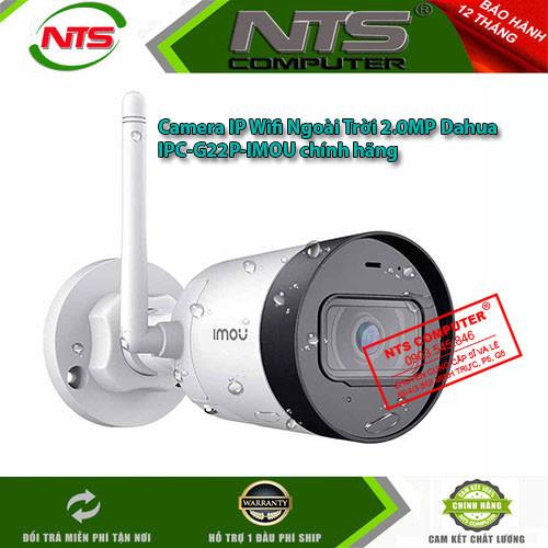 Camera IP Wifi Ngoài Trời 2.0MP Dahua IPC-G22P-IMOU chính hãng