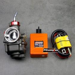 Combo độ xăng lửa cho Wave - IC Kozi, Mobin Kozi, Bình xăng Oko 24