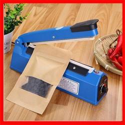 Máy hàn miệng túi mini - Máy hàn miệng túi nilong dập tay 20cm PFS200