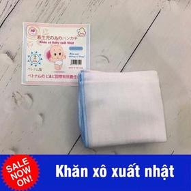 KHĂN XÔ XUẤT NHẬT CAO CẤP CHO BÉ- SET 10 CHIẾC - khăn sữa xuất nhật
