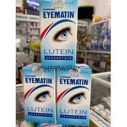 Viên uống bổ mắt Eyematin Lutein