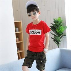 [NHẬP SD189D GIẢM 20K ] Set quần áo trẻ em in chữ UPSOAR dành cho bé trai 6-10 tuổi. Thiết kế đẹp, màu sắc phong phú