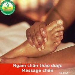 [Evoucher_Quận 10_HCM] Massage Chân - Ngâm Chân Thảo Dược Tại Ánh Dương Spa