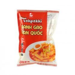1KG Bánh Gạo Hàn Quốc Tokbokki Green Foods dạng thỏi loại ngon