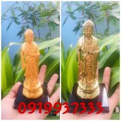 Tượng Phật A Di Đà cao 13 cm