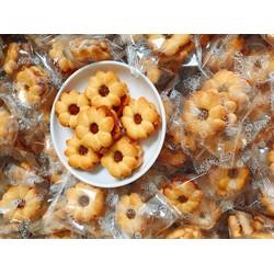 100gr Bánh Quy Hoa Mai nhân mứt dứa Thái Lan