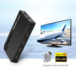 Bộ gộp HDMI 5 vào 1 ra chính hãng Ugreen 40205