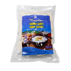 500g Bánh Gạo Tokbokki Hàn Quốc Green Foods cắt lát loại ngon dùng nấu Canh Bánh Gạo