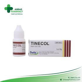 Combo 2 chai kem bôi giảm nấm ngoài da Tinecol - TH890