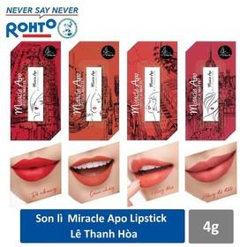 Son lì Miracle Apo Lipstick Matte x Lê Thanh Hòa 4g - son lì 06