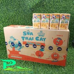 Sữa Lif Kun trái cây hương cam 110ml - thùng 48 hộp