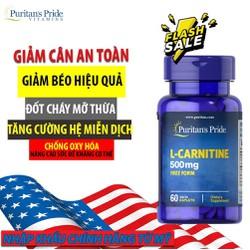 Giảm Cân Đốt Mỡ Tăng Cơ L-Carnitine 500mg Puritan's Pride