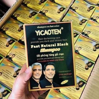 Dầu gội đen tóc hộp 10 gói - 450 thumbnail