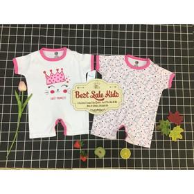 [được chọn mẫu] set 2 body đùi cho bé sơ sinh, quần áo mùa hè cho bé sơ sinh - S2DD99a