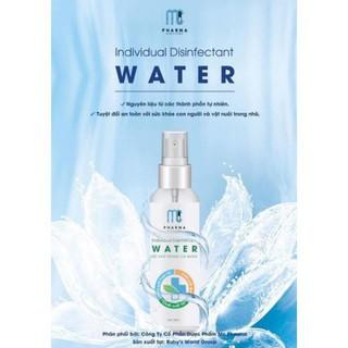 Nước Xịt rửa tay khô MC Pharma dạng chai xịt 60ml - Nước xịt rửa tay khô MC Pharma thumbnail