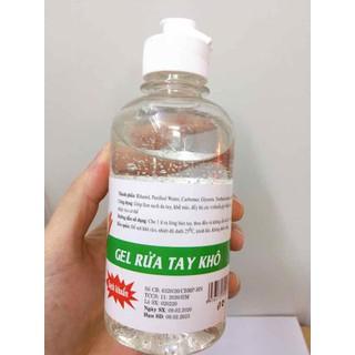 Gel Rửa Tay Khô Sạch Khuẩn 250ml Ajuki - gel ajuki 3