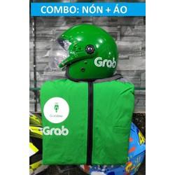 COMBO MŨ ÁO GRAB