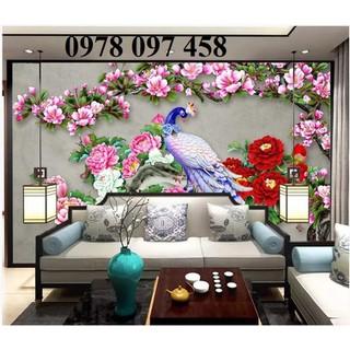 Tranh gạch công phượng trang trí phòng - C9HF thumbnail