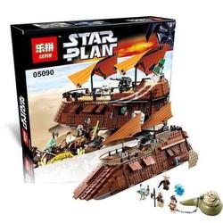 Bộ lắp ráp Lepin Star War Phi thuyền của Jabba - Phim Chiến Tranh Giữa Các Vì Sao Lepin 05090