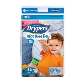 Tã dán Drypers Wee Wee Dry size XL3, XL16 12-17kg - 1000519100