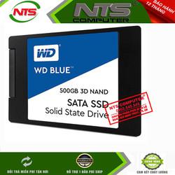 Ổ Cứng SSD Western 500GB Blue 2.5inch WDS500G2B0A - Hãng Phân Phân Chính Hãng