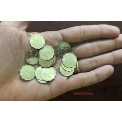 Xu HongKong 20 cent, đồng xu quốc hoa, phong thủy, mới cứng, chưa sử dụng